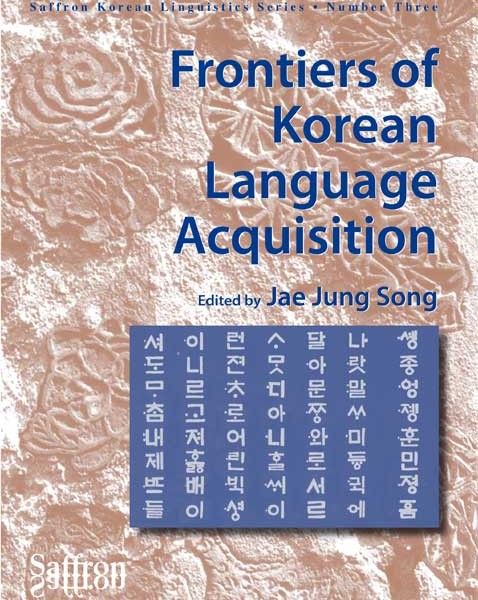 Frontiers of Korean Language Acquisition, volume three in Saffron Korean Linguistics Series, brings together original contributions from leading scholars of Korean language acquisition research. Six of the eight articles address L1 or L2 acquisition of Korean, and two deal with Korean speakers' L2 acquisition of English or providing a general discussion of L1/L2 acquisition in the context of linguistic typology.